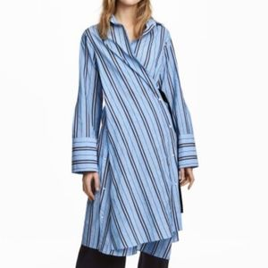 H&M Striped Shirt Dress